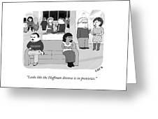 The Huffman Divorce Greeting Card