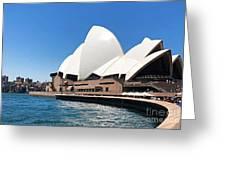 The Iconic Sydney Opera House.  Greeting Card