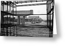 The Iron Substructure Greeting Card