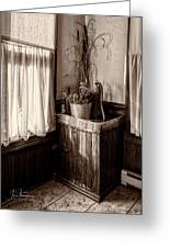 The Kitchen Water Pump Greeting Card