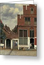 The Little Street, 1658 Greeting Card