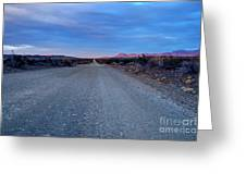 The Long Dirt Road Greeting Card