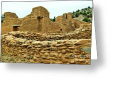The Mission At Jemez Springs Greeting Card