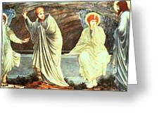 The Morning Of The Resurrection 1882 Greeting Card