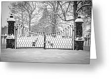 The North Gates Greeting Card by Kendall McKernon