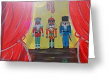 The Nutcrackers Greeting Card