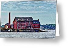 The Paint Factory, Gloucester, Massachusetts Greeting Card