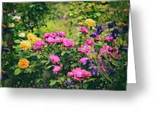 The Painted Garden Greeting Card