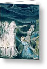 The Parable Of The Wise And Foolish Virgins - Digital Remastered Edition Greeting Card