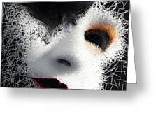 The Phantom Of The Arts Greeting Card by ISAW Company