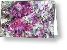 The Quiet Purple Clouds Greeting Card