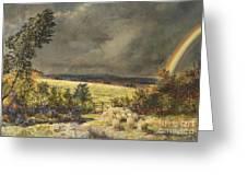 The Rainbow, 1858 Greeting Card