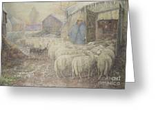 The Return Of The Shepherd Greeting Card