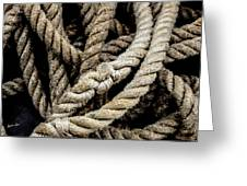 The Rope Greeting Card