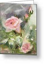 The Rose From A Misty Appalachia Greeting Card