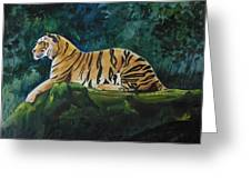 The Royal Bengal Tiger Greeting Card