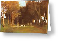 The Sacred Grove 1886 Greeting Card
