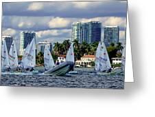 The Sailing Life Greeting Card