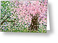 The Scenery Of Spring Greeting Card