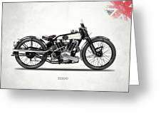 The Ss 100 1925 Greeting Card by Mark Rogan