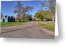 The Streets Of Bruce. Greeting Card
