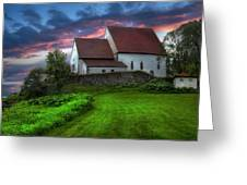The Trondenes Church Greeting Card