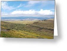 Montana Viewwwww Greeting Card by Deahn      Benware