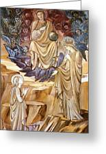 The Vision Of Saint Catherine Greeting Card
