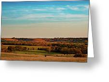 The Wakarusa River Valley Greeting Card by Jeff Phillippi