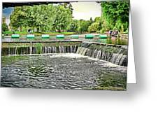 The Wier Greeting Card