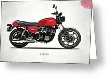 The Yamaha Xs1100 Greeting Card