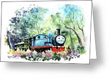 Thomas The Tank Engine In Buckfastleigh Greeting Card