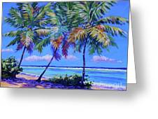 Three Palms- East End Greeting Card