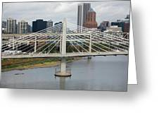 Tilikum Crossing, Portland, Oregon, Usa Greeting Card
