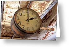 Time Stood Still 1 Greeting Card