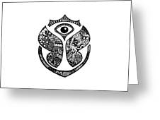 Tomrrowland Greeting Card