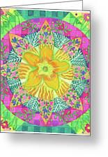 Tom's Squash Blossom Greeting Card