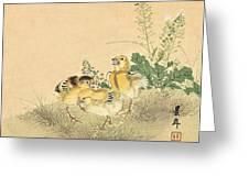 Top Quality Art - Keinen Kachoshokan 12view 3 Greeting Card