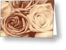Touching Harmony Greeting Card