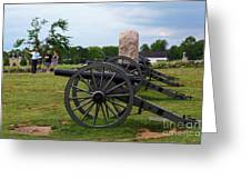 Touring The Gettysburg Battlefield Greeting Card