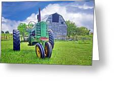 Tractor - On The Farm Greeting Card