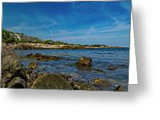 Tranquil Blues Day Kennebunkport Greeting Card