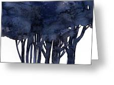 Tree Impressions 1f Greeting Card