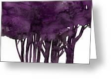 Tree Impressions 1i Greeting Card