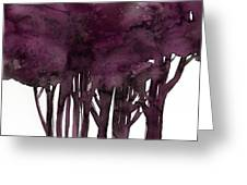 Tree Impressions 1j Greeting Card