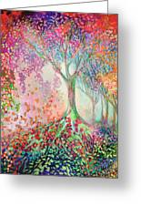 Tree Of Celebration Greeting Card
