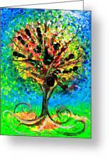 Tree Of Faith Greeting Card