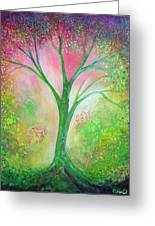 Tree Of Tranquility Greeting Card