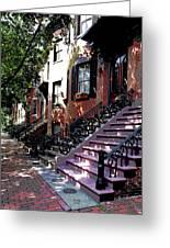 Tremont Street Boston Greeting Card