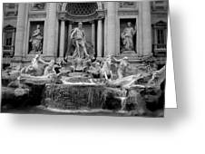 Trevi Fountain - Fontana Di Trevi Greeting Card